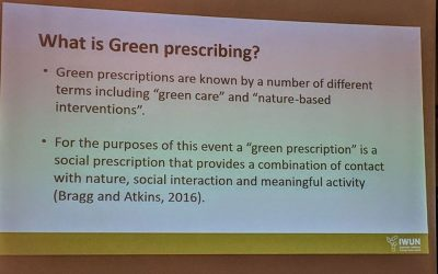 Developing Green Prescribing